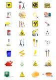 Ikonen der Hilfsmittel lizenzfreie abbildung