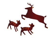 Ikonen der Tiere Stockbilder