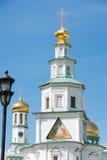 Ikonen des Turmtors des Tempels vom Auferstehungs-neuen Jerusalem-Kloster Lizenzfreies Stockbild