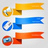 Ikonen für Newsletter Lizenzfreies Stockbild