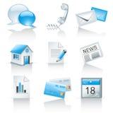 Ikonen für Web site Lizenzfreie Stockfotos