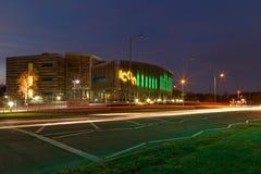 Ikonen-Gebäude in Daventry, Vereinigtes Königreich stockfotos