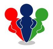 Ikonen-Gemeinschaft Lizenzfreies Stockfoto