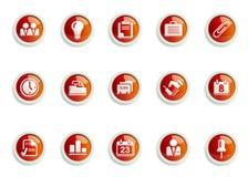 Ikonen-Set Lizenzfreies Stockbild