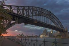 Ikonen-Sonnenaufgang Stockfoto