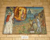 Ikonen von Heiligen Stockfoto