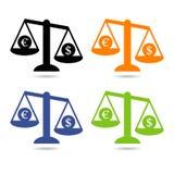 Ikonen-Waage Lizenzfreies Stockfoto