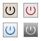 Ikonen zeigt Energie an stock abbildung