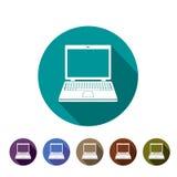 Ikonencomputer Lizenzfreie Stockbilder
