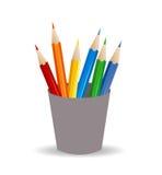Ikonendesign über weißem Hintergrund Stockfotos