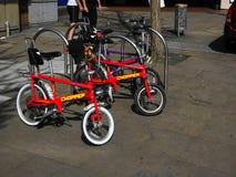Ikonenhafte Raleigh Chopper Bike stockbild