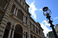 Ikonenhafter Iolani-Palast in Honolulu Lizenzfreie Stockbilder