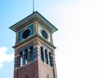 Ikonenhafter quadratischer Turm ist in Haymarket, Chinatown, Sydney, Australien stockfotografie