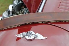 Ikonenhaftes britisches konvertierbares Sportauto führt Nahaufnahme einzeln auf Lizenzfreies Stockbild