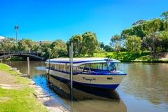 Ikonenhaftes Glotzaugeboot in Adelaide CBD Stockfotos