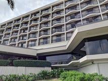 Ikonenhaftes Schildkröten-Bucht-Hotel auf dem Nordufer lizenzfreie stockbilder