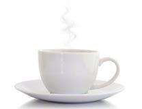 Ikonenhaftes weißes Cup Lizenzfreies Stockbild