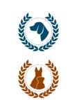 Ikonenhundesieger Stockbilder