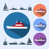 Ikonenschiffe Stockfotos