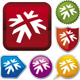Ikonenserie: Pfeil (Vektor) Lizenzfreie Stockfotos