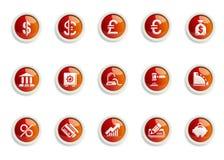 Ikonenset lizenzfreies stockbild