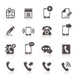 Ikonentelefon 5 Lizenzfreie Stockfotografie
