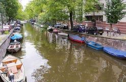 Ikonowe sceny od Amsterdam Zdjęcia Royalty Free