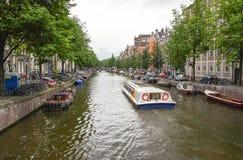 Ikonowe sceny od Amsterdam Obrazy Stock