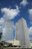 Ikonowi drapacze chmur Tel Aviv Zdjęcie Stock