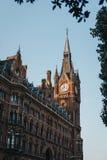 Ikonowy budynek St Pancras Renesansowy hotel, Londyn, UK zdjęcie stock