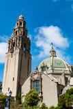 Ikonowy Kalifornia wierza w balboa parku Zdjęcia Royalty Free