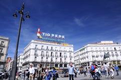 Ikonowy Tio Pepe znak Fotografia Royalty Free