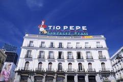 Ikonowy Tio Pepe znak Zdjęcie Stock