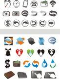 ikony Obraz Stock