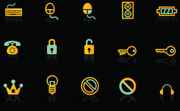 ikony Zdjęcie Royalty Free