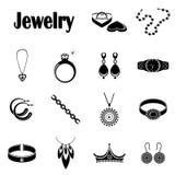 Ikony biżuteria Obraz Stock