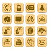 ikony biurowe ilustracja wektor