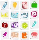ikony biurowe ilustracji