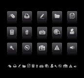 ikony biurowe Zdjęcie Stock