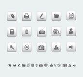 ikony biurowe Obrazy Royalty Free