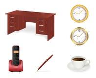ikony biurowy setu wektor Zdjęcia Stock