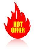ikony gorąca oferta Zdjęcie Stock