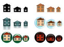Ikony, guziki dla strony internetowej/ Zdjęcie Royalty Free