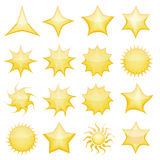 ikony gwiazda Obraz Stock
