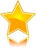 ikony gwiazda Obrazy Royalty Free