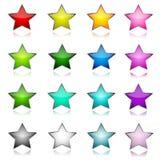 ikony gwiazda Zdjęcie Royalty Free