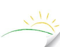 ikony ilustraci słońce ilustracji