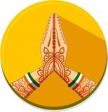 Ikony India Obraz Stock