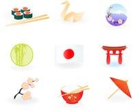 ikony Japan Fotografia Stock