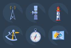 Ikony komunikacje royalty ilustracja